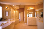 Southern House Plan Master Bathroom Photo 01 - 051S-0018 | House Plans and More