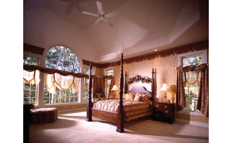Southern House Plan Master Bedroom Photo 01 051S-0018