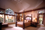 European House Plan Master Bedroom Photo 01 - 051S-0018 | House Plans and More
