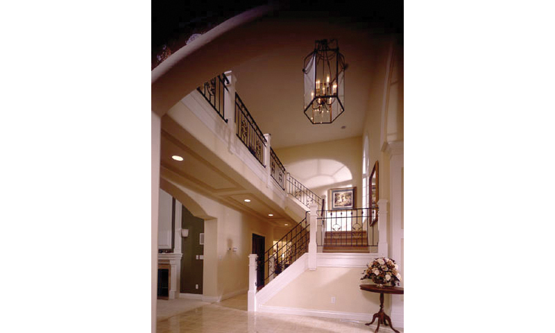 Plantation House Plan Stairs Photo - 051S-0018 | House Plans and More