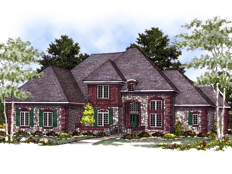 Arabelle luxury european home plan 051s 0022 house plans Luxury european house plans