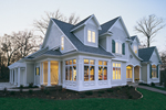 Windows Enhance Faade Of This Home Design