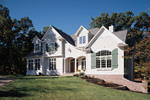 Luxury House Plan Front Photo 01 - 051S-0023 | House Plans and More