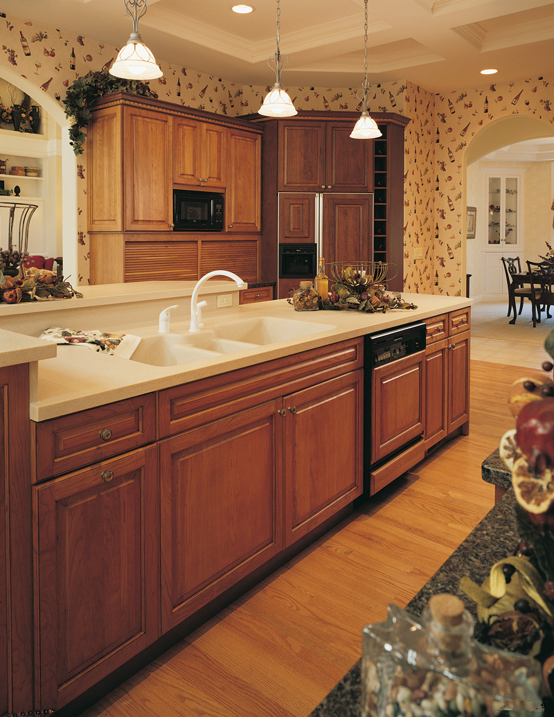 Vacation Home Plan Kitchen Photo 01 051S-0023
