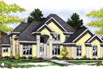 Sensational Stucco Luxury Two-Story Home