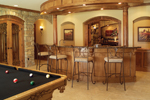 Spanish House Plan Bar Photo - 051S-0053 | House Plans and More