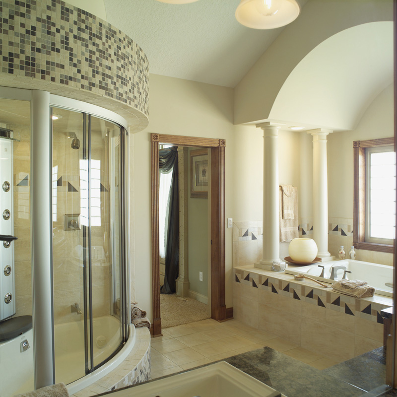 Spanish House Plan Bathroom Photo 01 051S-0053
