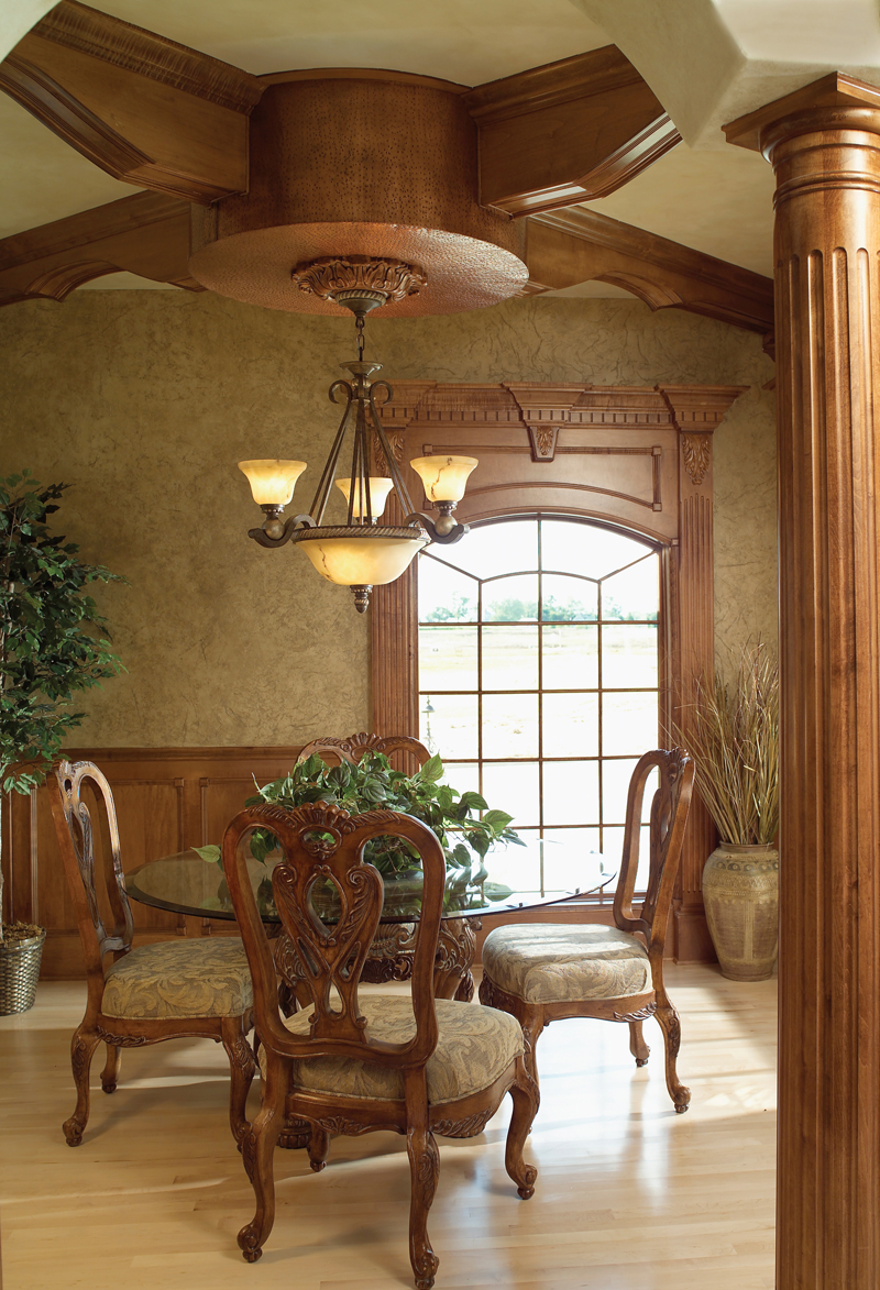 Sunbelt Home Plan Dining Room Photo 01 051S-0053