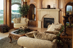 Adobe and Southwestern Plan Great Room Photo 01 - 051S-0053 | House Plans and More