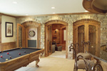 Spanish House Plan Recreation Room Photo 01 - 051S-0053 | House Plans and More