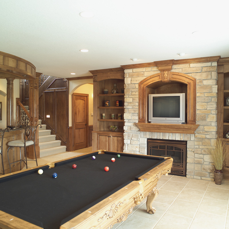 Sunbelt Home Plan Recreation Room Photo 02 051S-0053