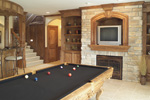 Ranch House Plan Recreation Room Photo 02 - 051S-0053 | House Plans and More