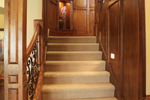 Neoclassical Home Plan Stairs Photo - 051S-0053 | House Plans and More
