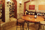 Neoclassical Home Plan Wine Cellar Photo - 051S-0053 | House Plans and More