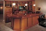 European House Plan Bar Photo - 051S-0060 | House Plans and More