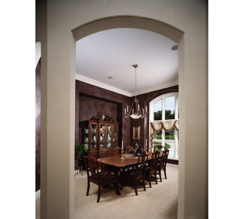 European House Plan Dining Room Photo 01 051S-0060