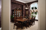 Luxury House Plan Dining Room Photo 01 - 051S-0060 | House Plans and More