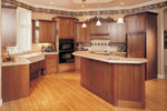 European House Plan Kitchen Photo 01 - 051S-0060 | House Plans and More