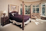 English Cottage House Plan Master Bedroom Photo 01 - 051S-0060 | House Plans and More
