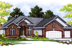 Appealing Ranch Home With Three-Car Garage