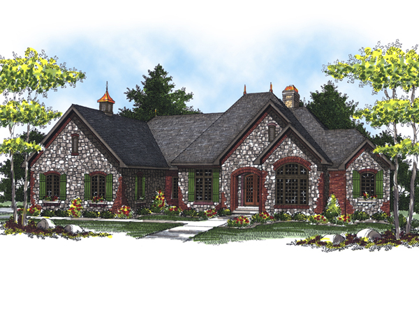 Malta Manor Luxury Ranch Home Plan 051s 0074 House Plans