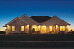 European House Plan Front of Home - 051S-0076 | House Plans and More