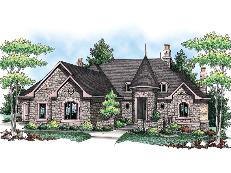 Milano Place European Home Plan 051s 0083 House Plans