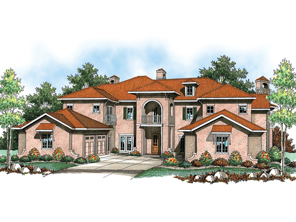 Valona Mediterranean Home Plan 051s 0084 House Plans And