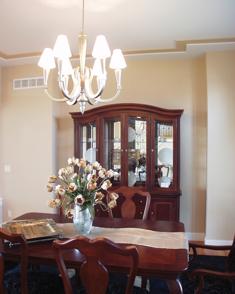 Colonial House Plan Dining Room Photo 02 051S-0093