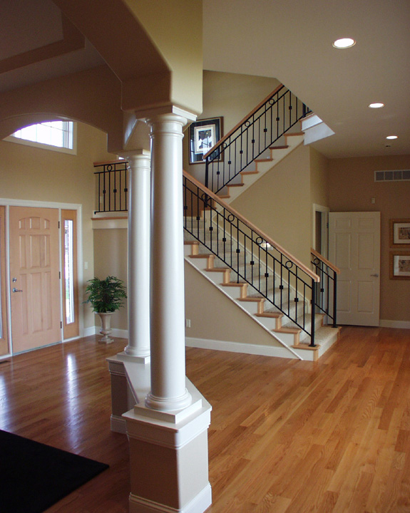 Luxury House Plan Stairs Photo 01 051S-0093