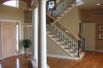 Colonial Floor Plan Stairs Photo 01 - 051S-0093 | House Plans and More