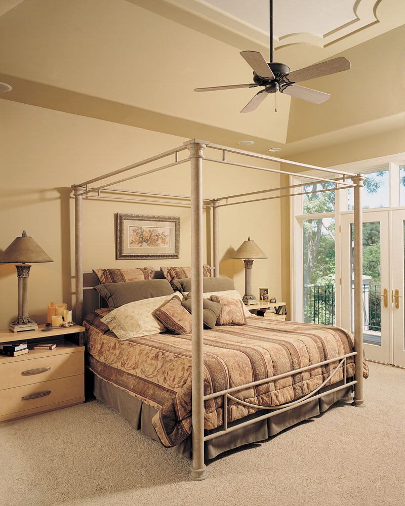 Spanish House Plan Bedroom Photo 01 - Talia Stucco Luxury Home 051S-0103 | House Plans and More