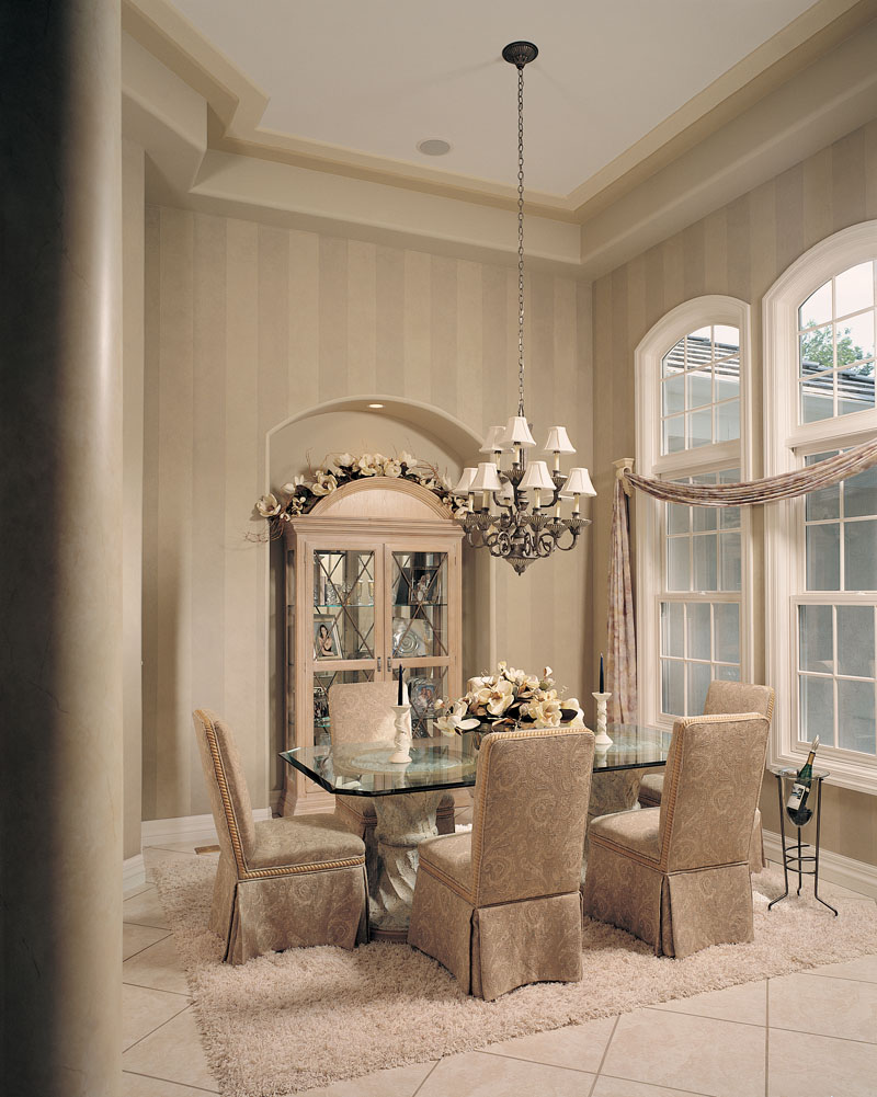 Spanish House Plan Dining Room Photo 01 - Talia Stucco Luxury Home 051S-0103 | House Plans and More