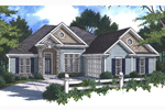 Shingle House Plan Front Photo 02 - 052D-0046 | House Plans and More