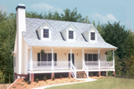 Cape Cod Style Home With Triple Dormers