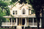 Lowcountry Home Plan Front of Home - 052D-0055 | House Plans and More