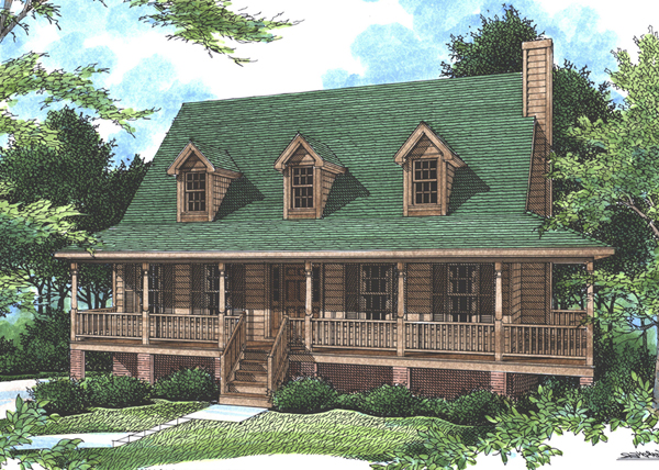 falais rustic country home plan 052d 0057 house plans and more - Rustic Country House Plans
