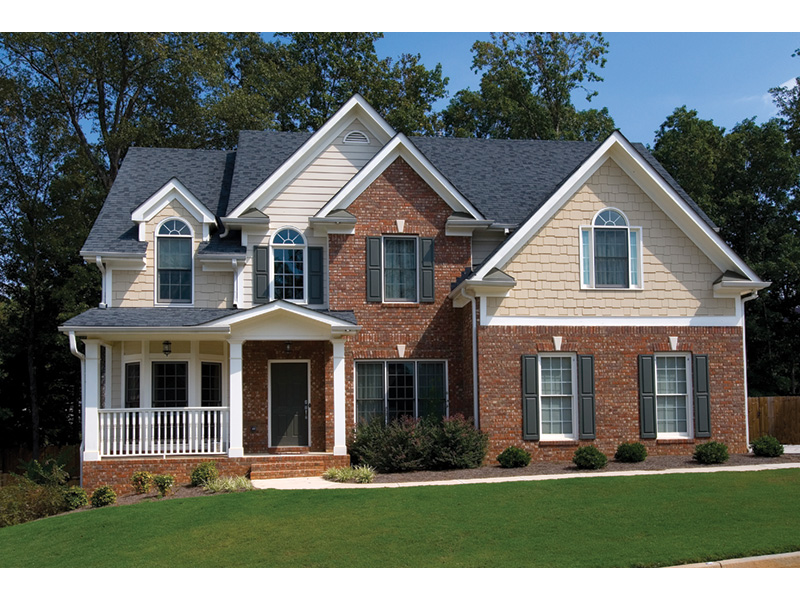 Country House Plan Front Photo 03 - 052D-0073 | House Plans and More