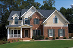 Southern House Plan Front Photo 03 - 052D-0073 | House Plans and More