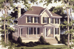 Traditional House Plan Front Photo 02 - 052D-0075 | House Plans and More