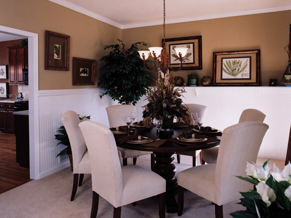 Traditional House Plan Dining Room Photo 01 052D-0078