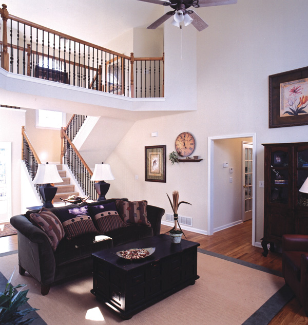 Country House Plan Living Room Photo 02 052D-0078