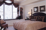 Shingle House Plan Master Bedroom Photo 01 - 052D-0078 | House Plans and More