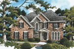 Traditional House Plan Front Photo 02 - 052D-0087 | House Plans and More