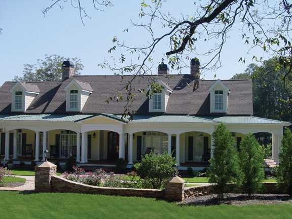 Dormers Enhance This Country-Style Home