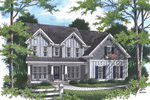 Farmhouse Plan Front Photo 01 - 052D-0097 | House Plans and More