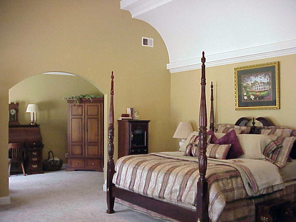 Greek Revival Home Plan Master Bedroom Photo 02 - 052D-0101 | House Plans and More