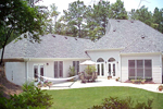 Traditional House Plan Rear Photo 01 - 052D-0101 | House Plans and More