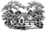 Traditional House Plan Front of Home - 052D-0103 | House Plans and More