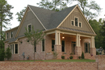 Craftsman House Plan Front Photo 01 - 052D-0121 | House Plans and More